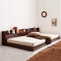 百意空间 定制板式床 环保榻榻米 储物沙发床 单人床 双人床 1.5米1.8米 收纳床 低箱大床