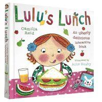 英文原版绘本 Lulu's Lunch 露露的午餐 精装触摸操作书 幼儿启蒙认知 露露 Lulu系列 1-3-6岁好孩
