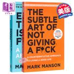 【中商原版】马克・曼森作品2册套装 英文原版 重塑幸福&一本关于希望的书 Everything Is F*cked: