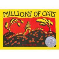 Millions of Cats 英文原版《100万只猫》1929年纽伯瑞银奖小说