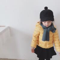 2018新款 依依宝贝女童羽绒服加厚小童幼童宝宝儿童韩版羽绒服