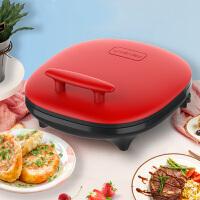 利仁(Liven)LR-J3300A 电饼铛 双面悬浮加热 家用煎烤烙饼机 中国红