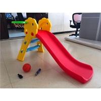 儿童室内滑梯宝宝滑滑梯家用折叠收纳加厚小型滑梯组合塑料玩具