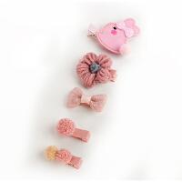 婴儿发夹套装 韩国发量少宝宝发卡 可爱公主儿童女孩头饰