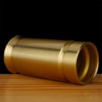 佛具纯铜光身线香竹枝香香筒供佛香炉果碟水杯香檀香佛教用品香炉