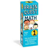 Brain Quest Grade 1 Math 智力开发系列:1年级数学 ISBN9780761141358