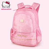 HelloKitty凯蒂猫 KT1097粉红 儿童书包 小学生书包 女童韩版甜美淑女双肩减负书包