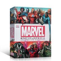 英文进口原版  漫威漫画人物百科 复仇者联盟 DK Marvel Encyclopedia 升级版 精装 大开本 DK出品