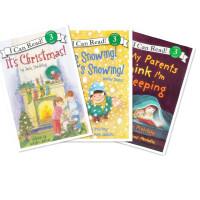 英文原版  It's Christmas! 圣诞节到了等3册合集! [4-8岁]