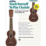 【预订】Alfred's Teach Yourself to Play Ukulele, C-Tuning: