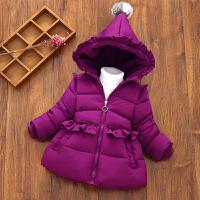 宝宝反季棉衣女童冬装加厚1-3-5岁儿童装外套婴幼儿羽绒棉袄