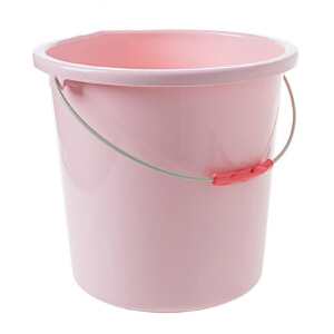 水桶 家用大号加厚洗衣桶手提钓鱼储水洗车清洁圆桶塑料洗衣拖把杂物脏衣大容量收纳桶