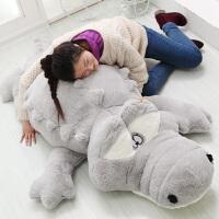 鳄鱼公仔抱枕毛绒玩具大号布娃娃可爱儿童生日礼物送女孩