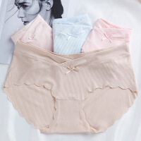 孕妇内裤棉里裆低腰怀孕期不裤头透气月子产妇产后内衣女夏