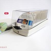 CD碟片盒 带锁CD架CDC-50K/120 大容量CD盒 DVD收纳收藏