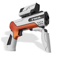玩具枪电动连发游戏枪儿童可发射水晶蛋抢
