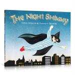 英文原版进口 The Night Shimmy 夜先生西米 Anthony Browne 安东尼布朗绘本 儿童图文故事