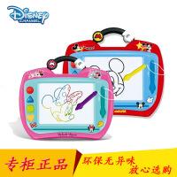 迪士尼儿童画板磁性写字板涂鸦绘画板磁性彩色画画益智宝宝玩具