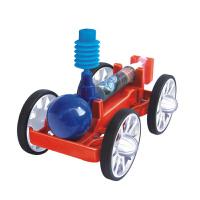 青少年科学实验空气动力车 DIY科技小制作中小学生玩具模型