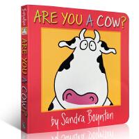 英文原版启蒙儿童书 Are You a Cow? 纸板书 Sandra Boynton 低幼启蒙绘本