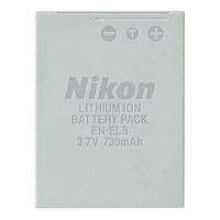 NIKON尼康EN-EL8原装电池CoolPix S1 S2 S3 S5 S6 S7C S7 S8相机