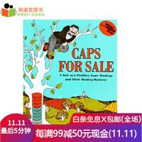 精装 英文原版绘本 百本必读 卖帽子 Caps for Sale #