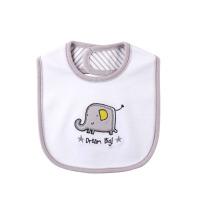 宝宝围嘴多层防水婴儿口水巾婴儿围兜新生儿童饭兜魔术贴