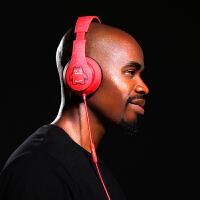 耳机头戴式有线线控耳麦电脑手机带话筒重低音HIFI音乐运动