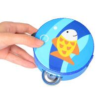 儿童玩具铃铛 新生婴哄睡手摇铃婴幼儿玩具小铃铛家用摇铃带手铃抓个月响铃