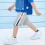 【2件3.8折】迷你巴拉巴拉男童运动中裤2019夏季新款儿童纯棉透气休闲裤子短款