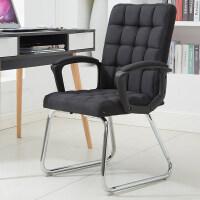 办公椅家用电脑椅职员椅会议椅学生宿舍座椅现代简约靠背椅子 钢制脚
