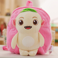 公仔毛绒玩具儿童宝宝背包1-3岁幼儿园男女童书背