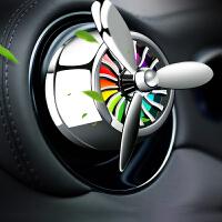 汽车香水夹LED灯车载空调香薰除异味内装饰用品