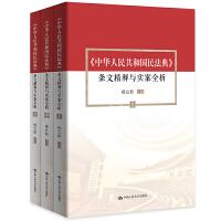 杨立新主编《中华人民共和国民法典》 条文精释与实案全析(上中下)团购电话4001066666转6