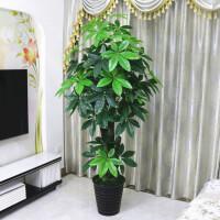 假树发财树仿真植物大型落地盆栽景塑料装饰假花仿真客厅室内绿植