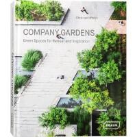 COMPANY GARDENS企业花园 英文版 国际名师作品 办公建筑环境景观设计 企业总部办公大楼