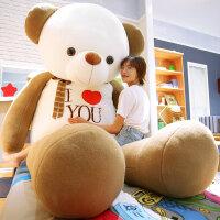 毛绒公仔娃娃送女生 特大号毛绒玩具可爱布娃娃公仔泰迪熊猫送女友儿童抱抱熊生日礼物