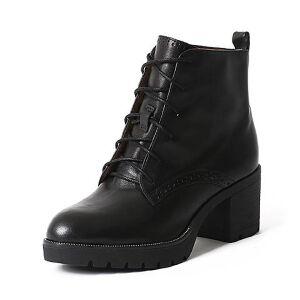Teenmix/天美意专柜同款牛皮女靴6D543DD6