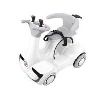 儿童车电动车四轮童车宝宝小孩玩摩托车可坐人汽车旋转摇摆!