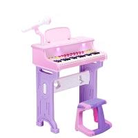 儿童益智电子琴1-3-6周岁小孩玩具生日宝宝礼物钢琴儿童电子琴1-3-6周岁小孩玩具女孩