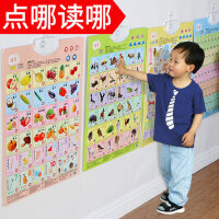 看图识字识物宝宝儿童玩具认知语音启蒙早教墙贴发声有声挂图2岁