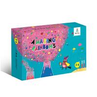 彩虹实验套装幼儿园小学生儿童DIY科学实验男孩女孩智力玩具组合