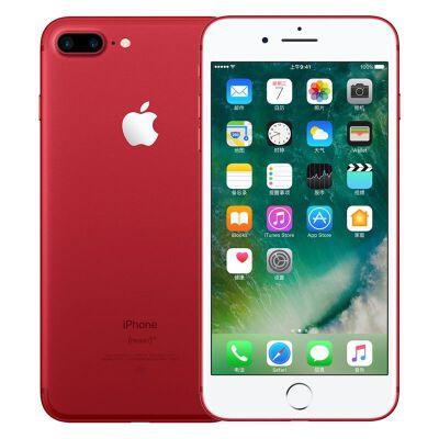 【赠送贴膜+手机壳】Apple苹果 iPhone7 Plus 128GB 苹果7 plus红色 移动联通电信全网通公开版4G手机支持礼品卡 正品行货 顺丰包邮