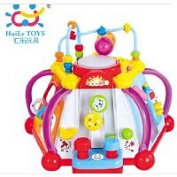1汇乐806快乐小天地 儿童益智 幼儿早教玩具 多功能游戏台 1岁半