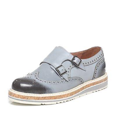 Tata/他她2017年春季专柜同款擦色牛皮男休闲鞋F7521AM7