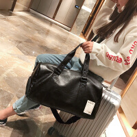 短途旅行包女手提包大容量出差旅游衣服包男轻便行李包袋健身包潮
