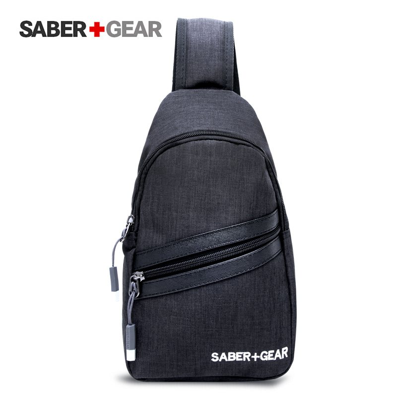 瑞士军刀男士休闲斜挎包韩版商务背包 单肩包潮SA9865