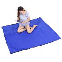 睡袋户外轻便信封式抓绒睡袋睡袋内胆抓绒睡袋毯子学生睡袋