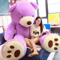 毛绒公仔娃娃送女生 巨型特大号毛绒玩具狗熊泰迪熊猫公仔抱抱熊送女友布娃娃玩偶可爱
