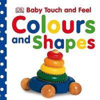 【现货】英文原版Baby Touch and Feel Colours and Shapes DK儿童触摸书:色彩与形